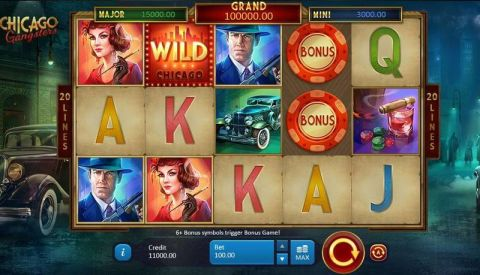 Chicago Gangsters Real Slot made by Playson