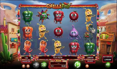 Chillipop Real Slot made by BetSoft