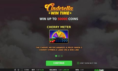 Cinderella Win Time Real Slot made by StakeLogic