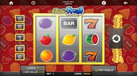 Classic Fruit Real Slot made by 1x2 Gaming
