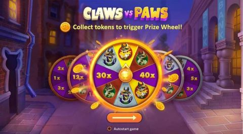 Claws vs Paws Real Slot made by Playson