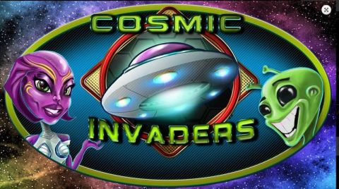 Cosmic Invaders Real Slot made by 2 by 2 Gaming