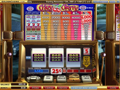 Crazy Cherry Real Slot made by WGS Technology