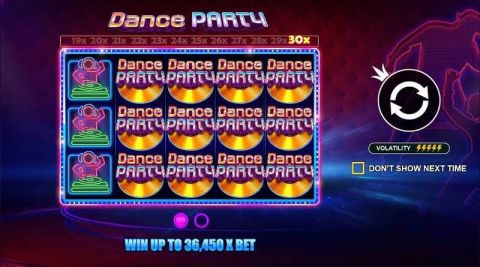 Dance Party Real Slot made by Pragmatic Play