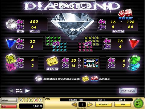 Diamond Real Slot made by GTECH