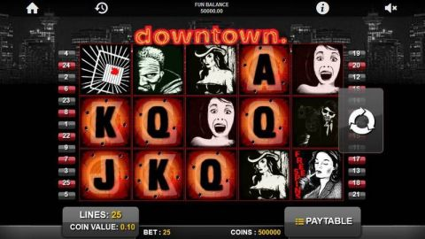 Downtown Real Slot made by 1x2 Gaming