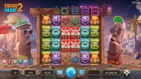 Easter Island 2 Real Slot made by Yggdrasil