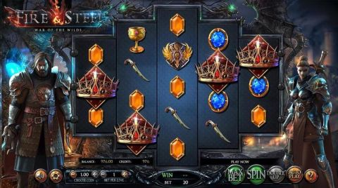 Fire & Steel Real Slot made by Betsoft