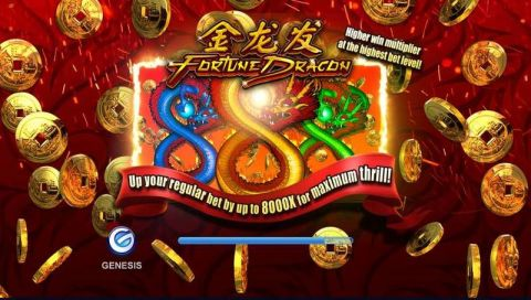 Fortune Dragon Real Slot made by Genesis