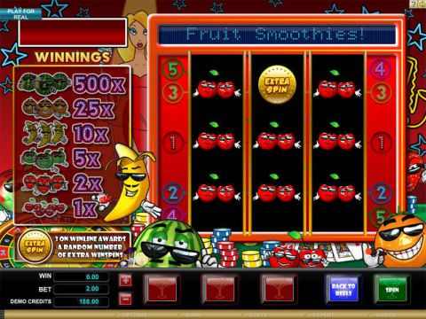 Fruit Smoothie Real Slot made by Microgaming