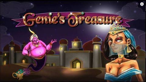 Genie's Treasure Real Slot made by 2 by 2 Gaming