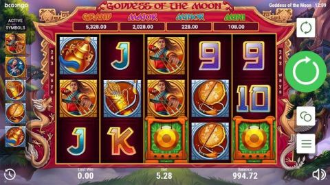 Goddes of the Moon Real Slot made by Booongo