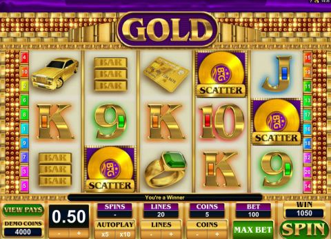 Gold Real Slot made by Big Time Gaming