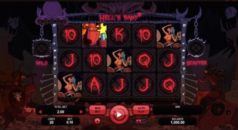 Hell's Band Real Slot made by Booongo