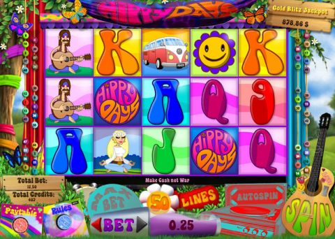Hippy Days Real Slot made by bwin.party