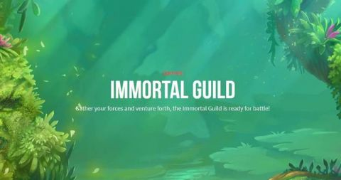 Immortal Guild Real Slot made by Push Gaming