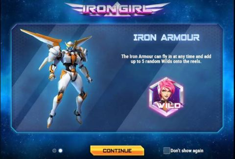 Iron Girl Real Slot made by Play'n GO