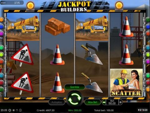 Jackpot Builders Real Slot made by