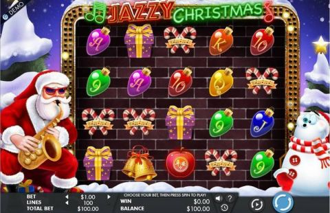Jazzy Christmas Real Slot made by Genesis