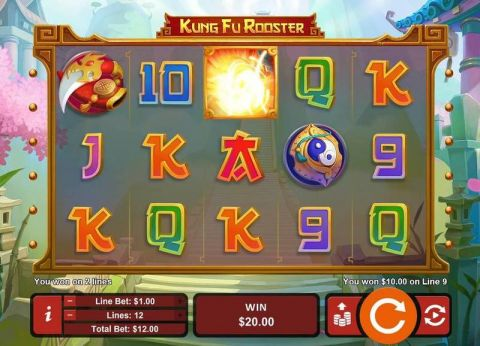 Kung Fu Rooster Real Slot made by RTG