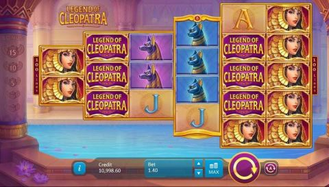 Legend of Cleopatra Real Slot made by Playson
