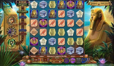 Legend of the Nile Real Slot made by BetSoft