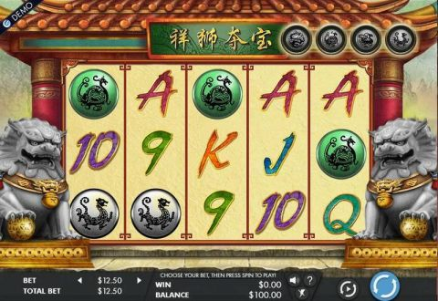 Lion's Fortune Real Slot made by Genesis
