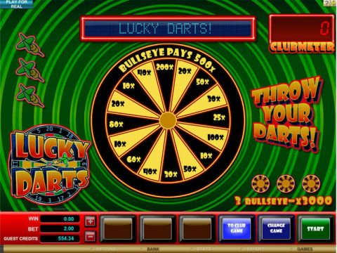 Lucky Darts Real Slot made by Microgaming