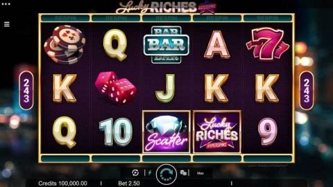 Lucky Riches Real Slot made by Microgaming