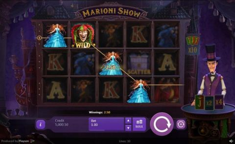 Marioni Show Real Slot made by Playson