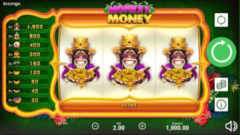 Monkey Money Real Slot made by