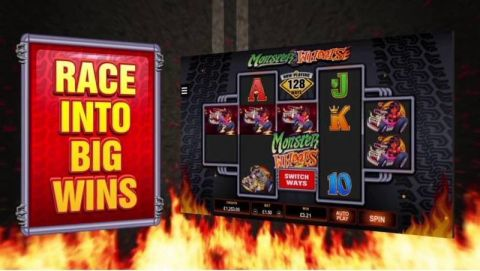 Monster Wheels Real Slot made by Microgaming