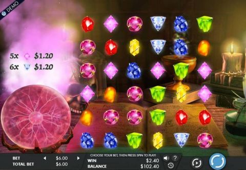 Mysterious Gems Real Slot made by Genesis