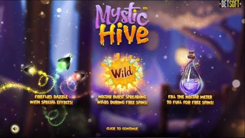 Mystic Hive Real Slot made by BetSoft