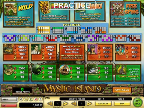 Mystic Island Real Slot made by GTECH