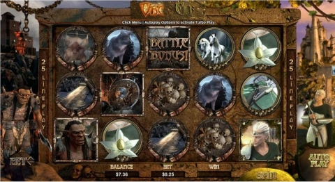 Orc vs Elf Real Slot made by RTG