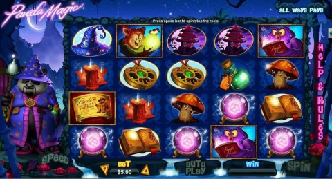 Panda Magic Real Slot made by RTG