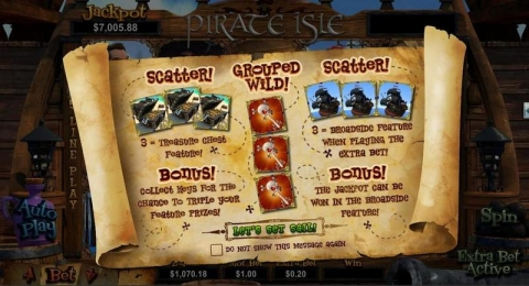Pirate Isle - 3D Real Slot made by RTG