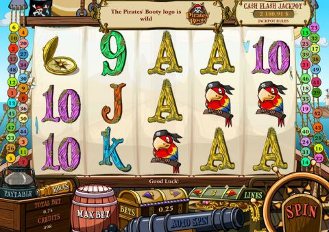 Pirates' Booty Real Slot made by bwin.party