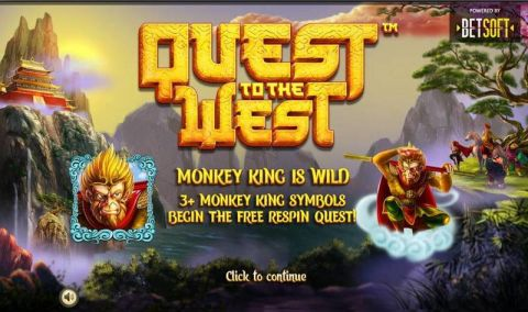 Quest to the West Real Slot made by BetSoft