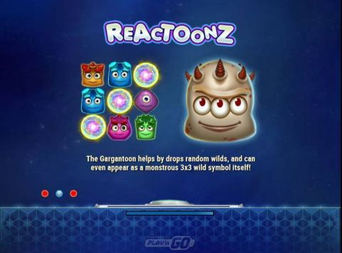 Reactoonz Real Slot made by Play'n GO