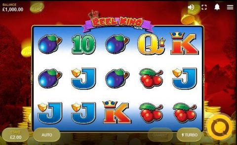 Reel King Mega Real Slot made by