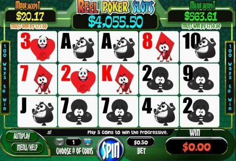 Reel Poker Real Slot made by WGS Technology