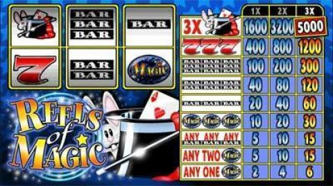 Reels of Magic Real Slot made by Microgaming