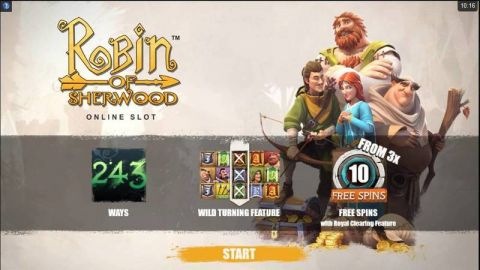 Robin of Sherwood Real Slot made by Microgaming