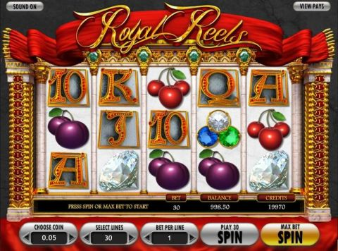 Royal Reels Real Slot made by Betsoft