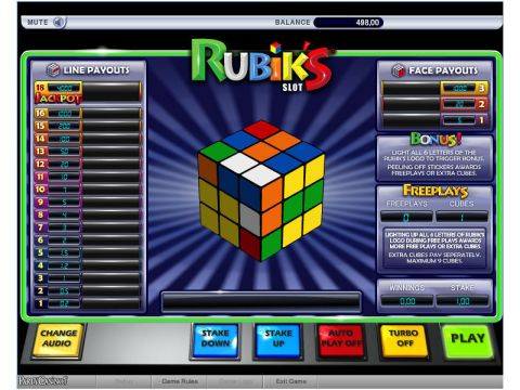 Rubiks Real Slot made by bwin.party