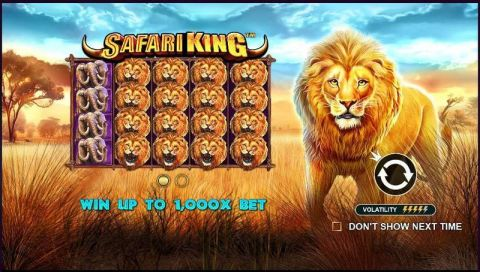 Safari King Real Slot made by