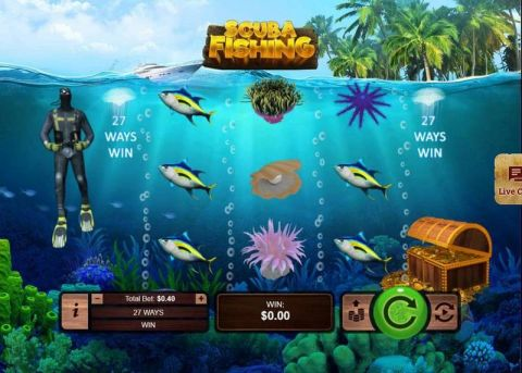 Scuba Fishing Real Slot made by RTG