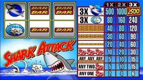 Shark Attack Real Slot made by Microgaming